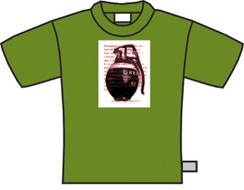Grenade T-Shirt (Small Mens)