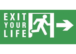 Exit Your Life Lightbox